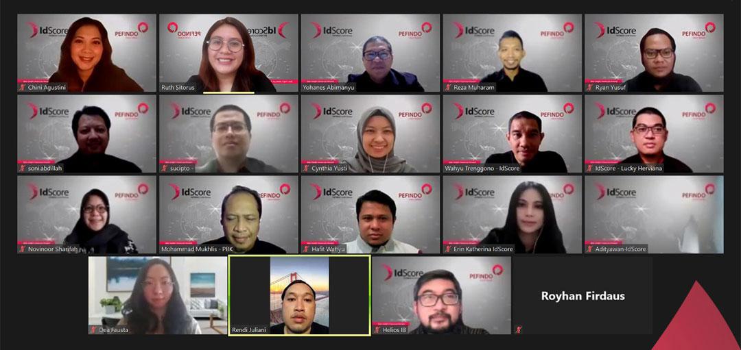 PEFINDO Biro Kredit, IdScore, induksi, karyawan baru